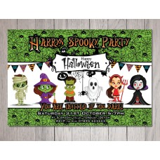 Personalised Halloween Party Invitation #3