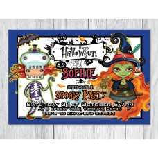 Personalised Halloween Party Invitation #5