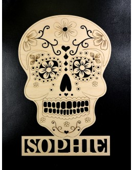 Personalised Sign / Plaque - Sugar Skull