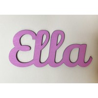 Simple Script Personalised Name Sign / Plaque