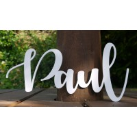 Simple and Elegant Personalised Name Sign / Plaque